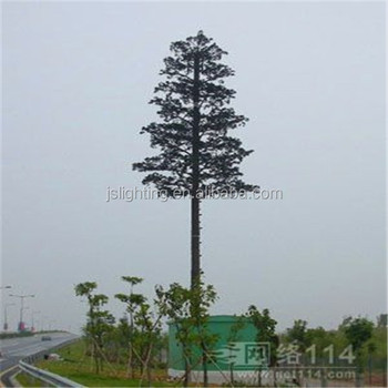 New design galvanized camouflaged telecommunication tower