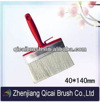 Blue Plastic Handle Round Head Paint Brush