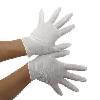 No powder medical latex nitrile vinyl latex examination gloves prices for china supplier