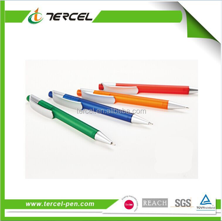 Hot sale top quality best price promotional logo plastic pen