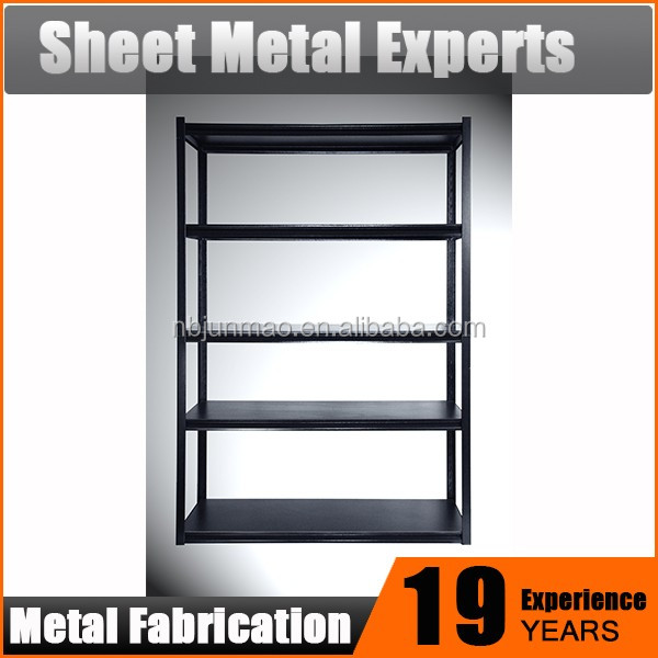 5 Tier Shelving Storage Metal Shelf,powder coating metal storage shelf