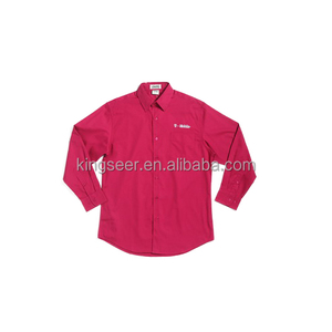 Customized Long sleeve Cotton/polyester Working Uniform Dress Shirt