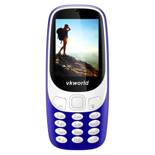 Dropshipping In Stock Original VKworld Z3310 Feature Phone Class K Amplifier 3D Screen 2G Bands Senior VKworld Cellphone