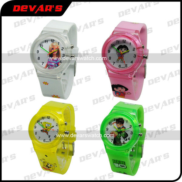 talking watches for kids digital watches simple cuteness wholesale silicone kid led watch