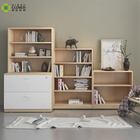 High Quality Modern Simple Design Wooden Bookcase Furniture For Home Or Office