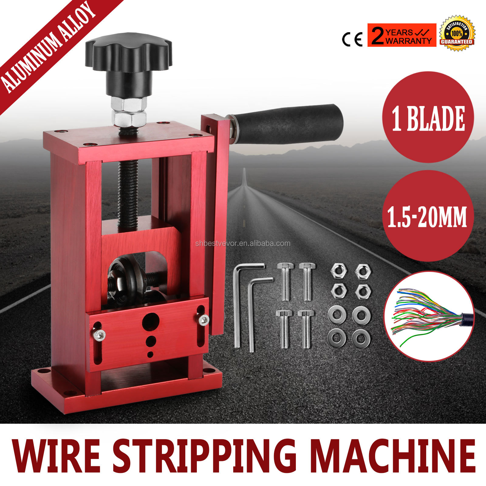 1.5-20mm Copper Wire Stripping Machine Cable Stripper Scrap Recycle ...