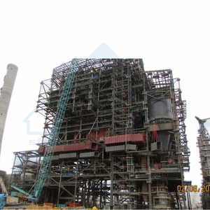 Power Plant Boiler Steel Structure in South Africa