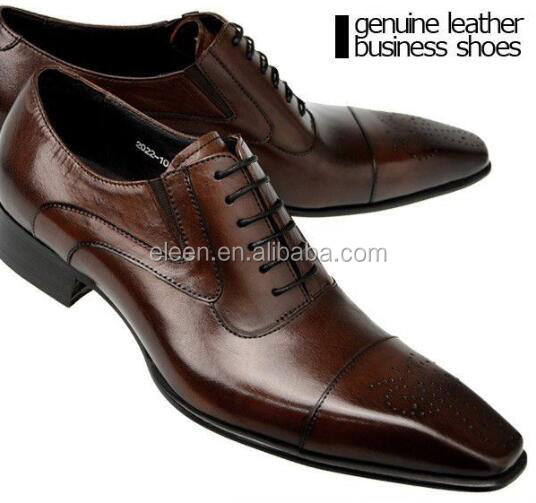 genuine dress style leather shoes businessmen Elegant Fa8px5qwq