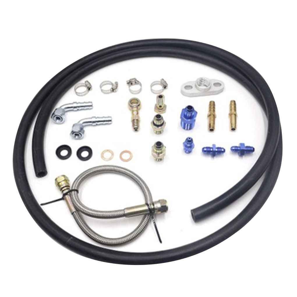 Turbo Oil Drain Flange 10an Fitting Fit Most of Turbonetics//Garrett//Precision//Brogwarner Big Name Brand