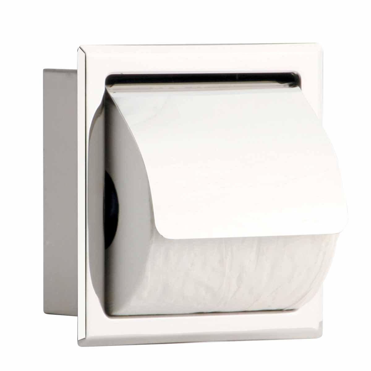 Recessed Ceramic Toilet Tissue Holder