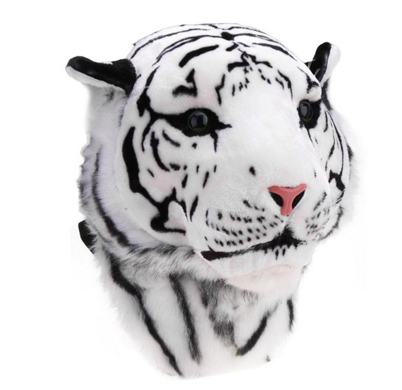 Fanala Cool Huge Animal Style Backpack Tiger Head Lion White Tiger Head Bags Knapsack