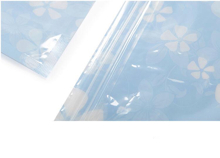 Printed vacuum storage bags bag space saver saving storage travel bag with pump