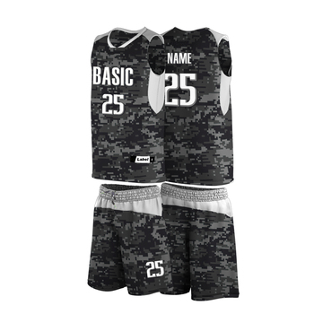 34add7c64 Free shipping new design camouflage college basketball jersey uniform