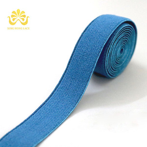 custom nylon webbing elastic ribbon 9mm
