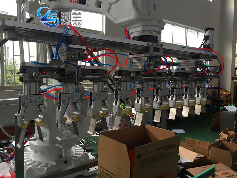 Bebidas garrafa caso robô máquina de embalagem para o vinho de Ameixa