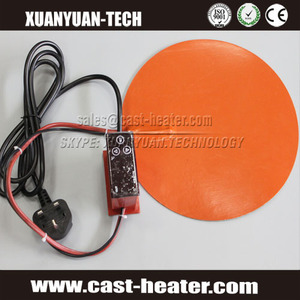 silicone rubber hot pads shower water heater