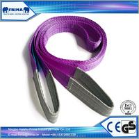 Polyester Lifting Sling for Crane Lifting, Polyester Webbing Sling, Soft Slings.