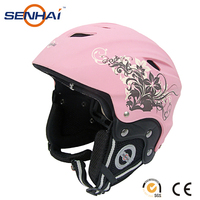 ski helmet for snow sport pink cover