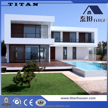 Australia Steel Frame Modern Design China Prefabricated Homes ...