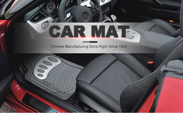 2019 Popular Luxury  trim-to-fit design deeply sculpted channels Decorative Custom Car Floor Mats