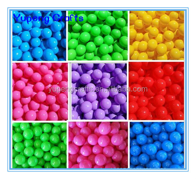 Plastic Play Ball Pit Balls ( 55mm, 70mm, 80mm )