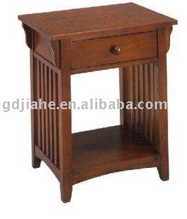 Nuevo dise o lago ca n de madera mesa de noche mesita de for Diseno de mesa de noche