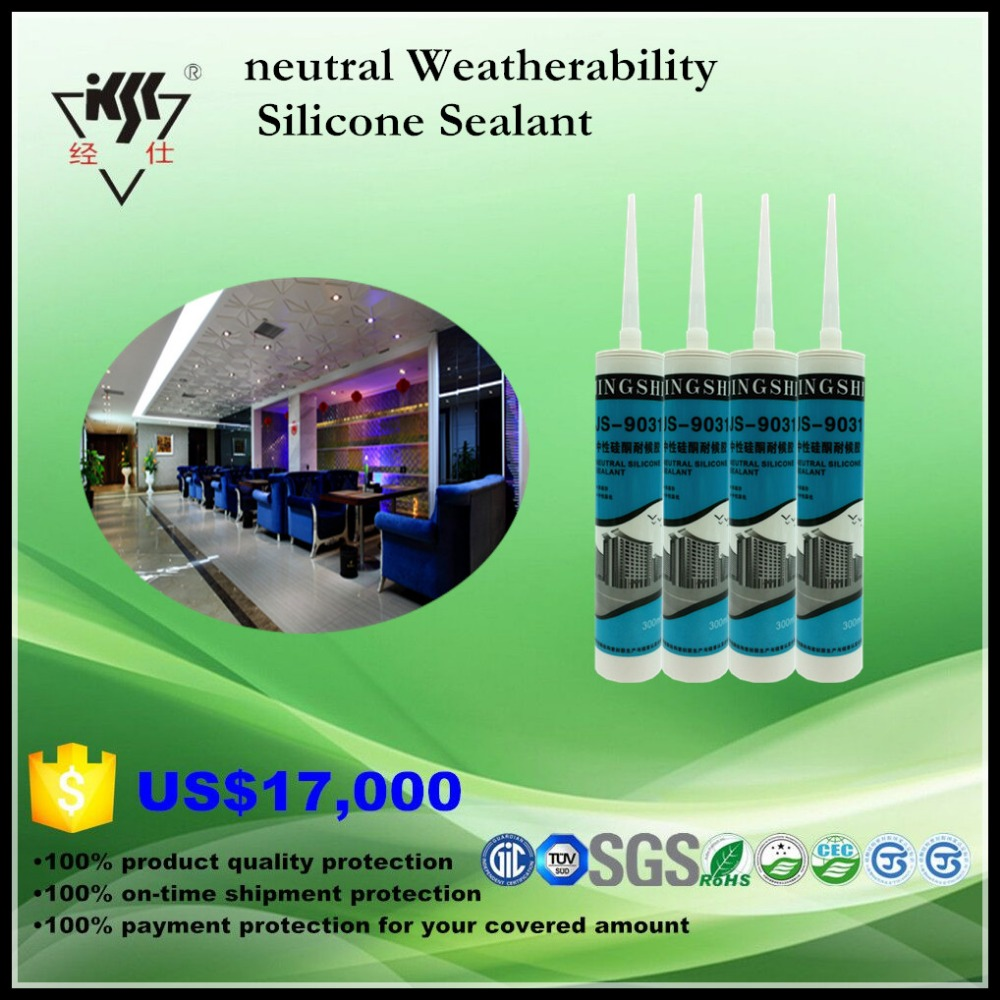 cold heat resistant neutral weather proofing silicone sealant