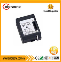 Compatible Remanufacure Printer ink cartridge for canon BC03 ink cartridge Factory price for BJC-1000