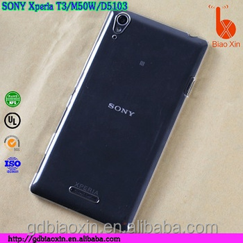 online store 81139 d333c Cheap Price For Sony Xperia T3 Phone Case,For Xperia T3 Transparent Mobile  Phone Cover - Buy Crystal Case For Sony Xperia T3,Back Cover For Sony ...