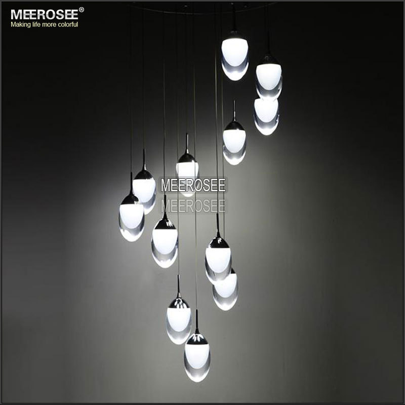 Lighting Basement Washroom Stairs: LED Ceiling Light Fixture Large LED Lustre Lamp For Stairs