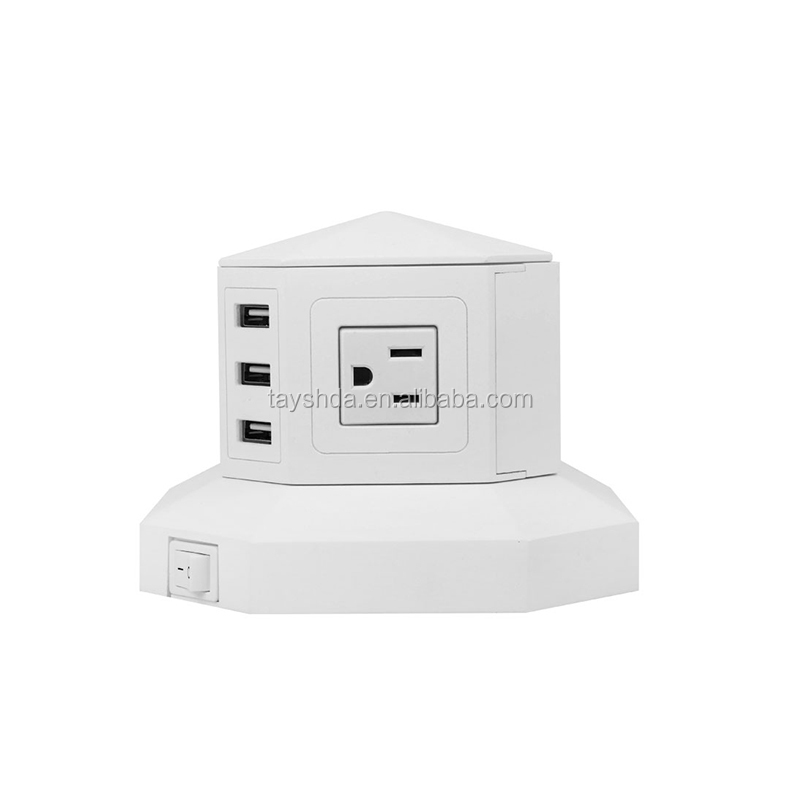 wholesale surge protector tower usb power strip