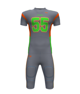 Wholesale Youth Team Sublimated Football Jersey Custom American Football Uniform