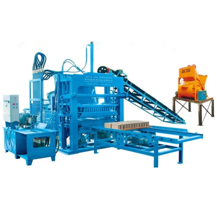 ZCJK QTY4-20A fly ash brick making machine hydraform brick makin