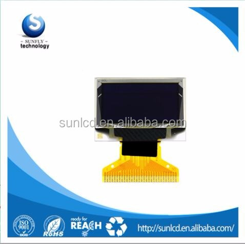 0.96 inch transparent oled screen with 128X64 display