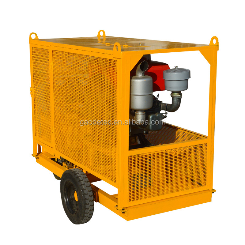 Double Acting Diesel Driven Electric Pump Station