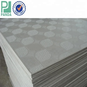 PVC Gypsum Board Suspended Ceiling Panels PVC Laminated Gypsum Board