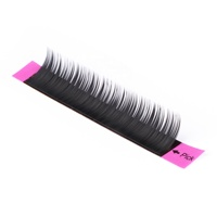 DS 3d curl lovely 0.07 eyelash extension Wholesale Individual Silk natural and soft volume eyelash