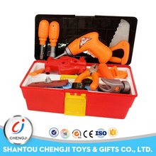 plastic cheap pretend playing game kids real tool set for boy