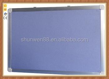 Bacheche Per Ufficio : Caldo vendere in alluminio frame messaggio morbido feltro pin board