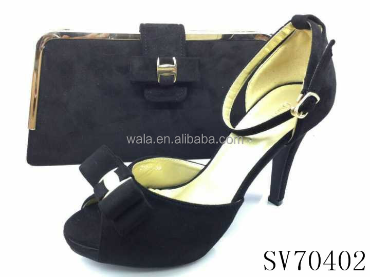 SV70402 heel ladies with shoes sets set italian shoes high bowknot fashion RwHPqa4