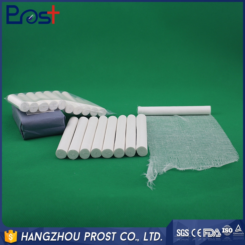 Manufacturer Supplier plain cotton gauze roll With ISO9001 Certificate