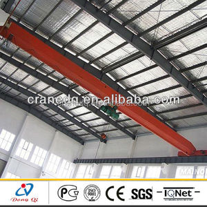 China supplier 5 ton single girder overhead crane price for sale