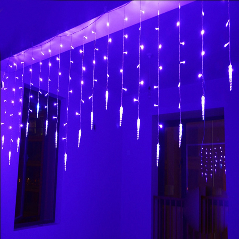 Holiday Lighting 2M*0.6M 60LEDs Waterproof String Light Fairy Icicle LED