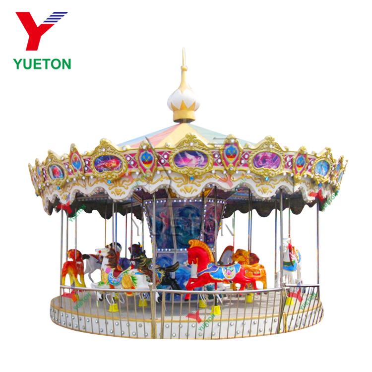 Factory Price Kids Luxury Toy Merry Go Round Amusement Park Ride Carousel  Horse Rides - Buy Kids Carousel For Sale,Amusement Park Equipment  Playground