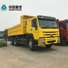 SINOTRUCK Price China 25 30 40 tons New Used Sand 371 336 10 tires Wheel HOWO Tipper truck