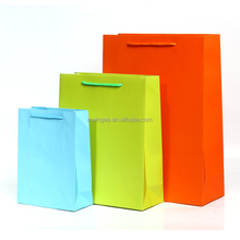 Accept Custom Order plain Gift Industrial Use full color packaging paper bag