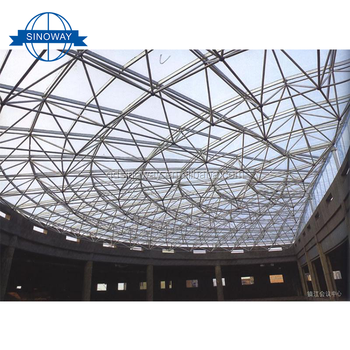 Hot Sale Alibaba prefab steel structure hotel building steel dome structure