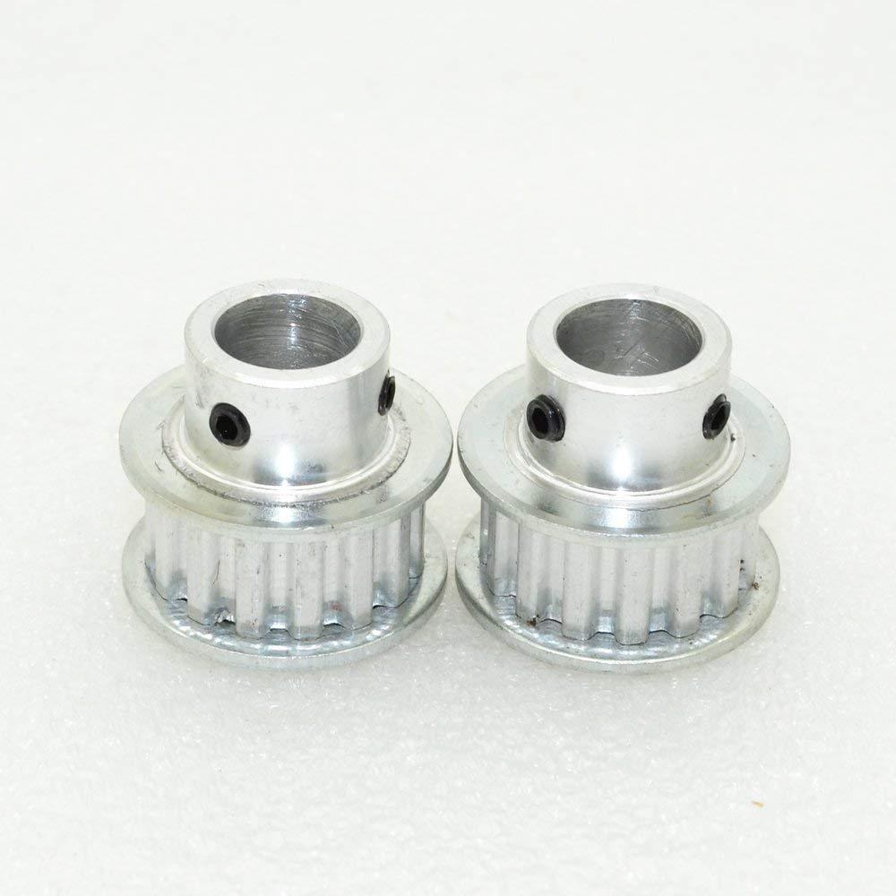 Cheap Xl Timing Pulley Plastic Find Deals Gt2 40 Teeth Bore 10mm Belt 6mm Get Quotations 2pcs Xl15 Xl15t Bore10mm Alumium 15 For Stepper Motor