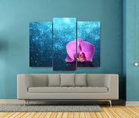 High Definition Flower Picture Canvas Prints For Living Room Wall Decoration