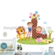 children's bedroom decoration animal kid wall sticker